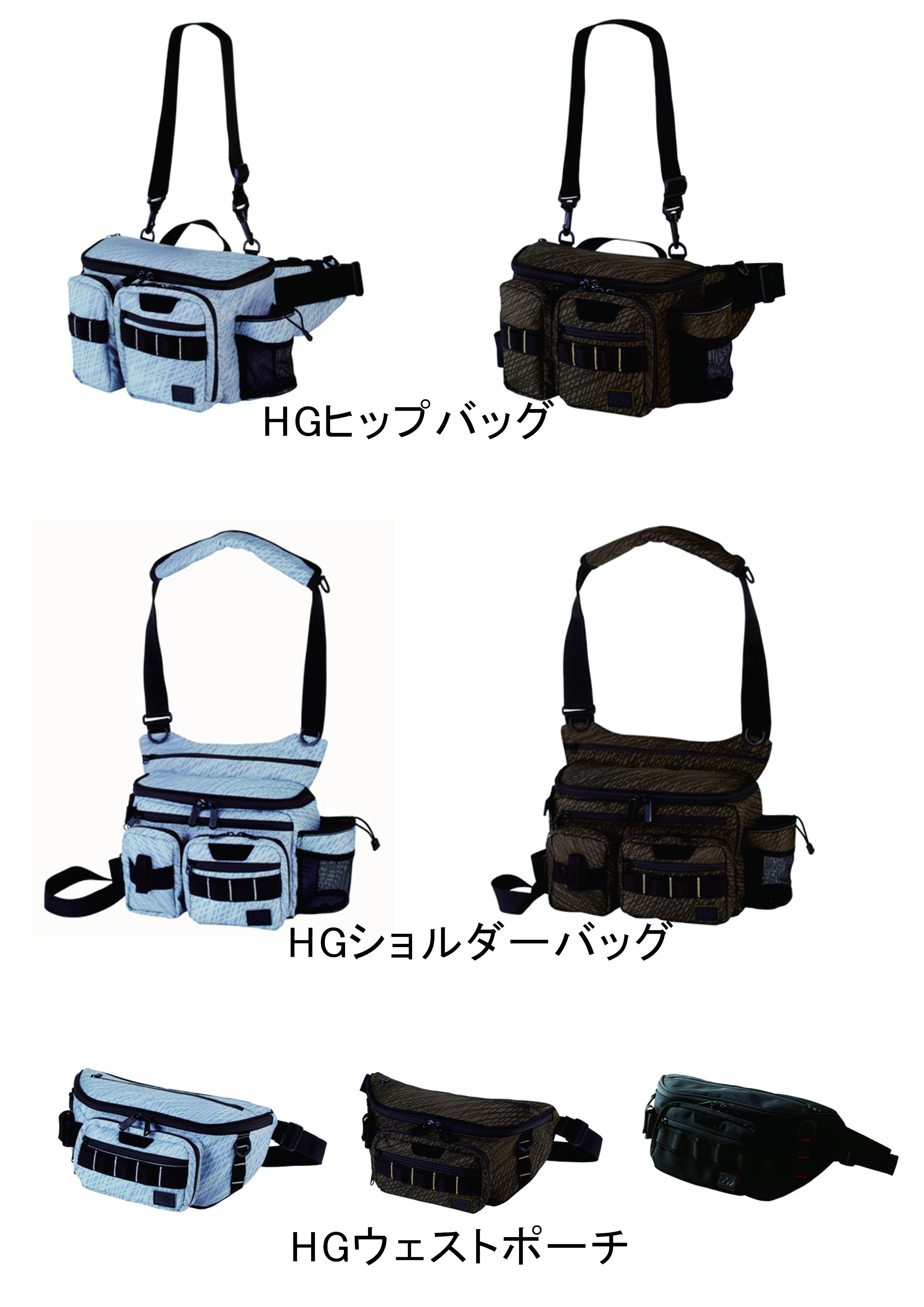 新製品 ヒップバッグ、ショルダーバッグ、ウェストポーチ 入荷しました